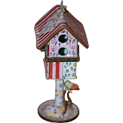 Vintage Doll Dollhouse Birdhouse Miniature Enamel Box Kelvin Chen
