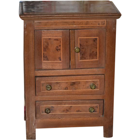 antique doll dressing cabinet vanity for french fashion On dressing cabinet pictures
