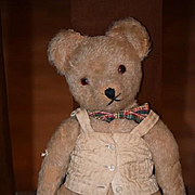 Vintage Teddy Bear Mohair Jointed W/ Corset Cutie! Doll Friend