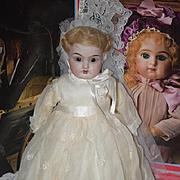 Antique Doll Kestner Cabinet Size Bride 154 Belton Type Head Solid Dome