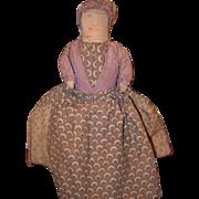 Old Doll Cloth Doll Rag Doll Folk Art Primitive Black Doll White Doll Topsy Turvy Unusual