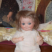 Antique Doll Bisque Googly Bisque 253 Adorable Impish Smile