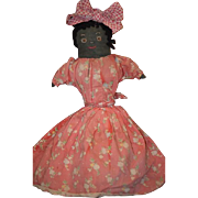 Old Doll Cloth Doll Rag Doll Folk Art Primitive Topsy Turvy Wonderful OLD
