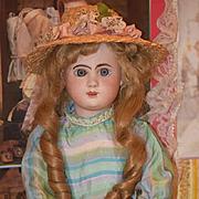Antique Doll Rare French Bisque Phenix Gorgeous