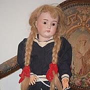 "Antique Doll Kestner Beautiful Huge 171 30"" Tall Sailor Girl"