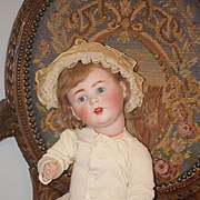 Antique Doll Jutta Baby Bisque Adorable Character Wobbly Tongue