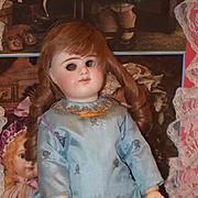 Antique Doll E D Etienne Denamur  French Bisque Doll Closed Mouth Cabinet Size