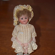 Antique Doll Miniature Bisque Dollhouse