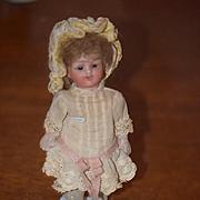 Antique Doll Miniature Bisque Dollhouse