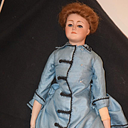 Antique Doll Gibson Girl Kestner Bisque Head Fashion Lady Doll Gorgeous 172
