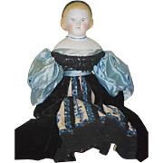 Antique Doll ALICE Parian China Head Gorgeous