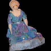 Vintage Doll Emma Clear Artist Doll China Head Parian Gorgeous Fancy