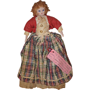 Vintage Doll Ruth Gibbs China Head Wonderful Unusual