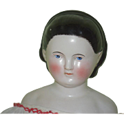 Antique Doll China Head Alice Kestner Gorgeous