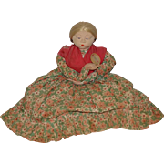 Old Doll Cloth Doll Rag Doll Tea Caddy Tea Cozy Tea Cosy