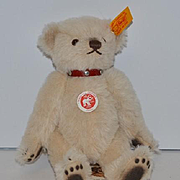 Wonderful Steiff Teddy Bear Perfect size for Doll! Unusual Look