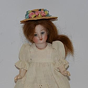 Antique Doll Miniature Bisque Dollhouse Jointed Adorable