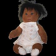 Vintage Dianne Dengel Black Cloth Doll Character Artist Doll