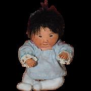 Vintage Doll Dianne Dengel Cloth Character Artist Doll Adorable