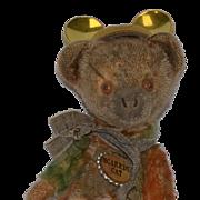 Vintage Teddy Bear Jointed Bears of Witney Multi Color