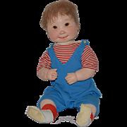 Vintage Doll Dianne Dengel Cloth Artist Doll Large Wonderful OOAK