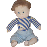 Vintage Doll Dianne Dengel Cloth Doll Artist Doll Character Doll