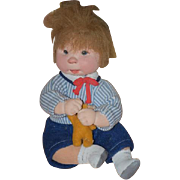Vintage Doll Artist Doll Diane Dengel Character Doll