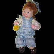 Vintage Doll Dianne Dengel Artist Doll Boy w/ Baby Chic Character Doll