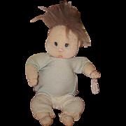 Vintage Doll Dianne Dengel Artist Doll Cloth Doll OOAK Character Doll