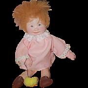 Vintage Doll Dianne Dengel Cloth Doll Artist Doll OOAK