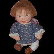 Vintage Doll Dianne Dengel Artist Doll Cloth Doll Character Adorable!