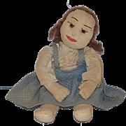 Old Doll Rag Doll Cloth Doll Primitive Folk Art
