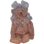 An Original By Blackwoods Design Teddy Bear Artist Bear Jointed Pink Bear