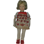 Old Doll Lenci Cloth Doll Character Doll Felt Adorable