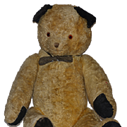 Old Teddy Bear Jointed Mohair Two Tone Jointed ADORABLE
