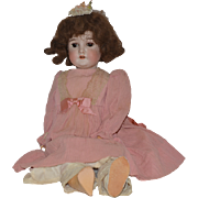 Antique Doll Queen Louise Bisque Doll Gorgeous