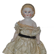 Antique Doll Alice Miniature All Bisque China Head WONDERFUL Dollhouse