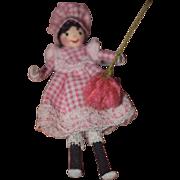 Vintage Doll Artist Miniature Doll Wonderful