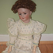 Antique Doll Simon & Halbig 1159 Beautiful Bisque Lady Doll Little Women