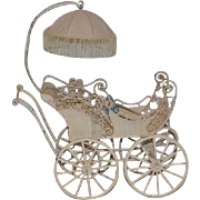 Wonderful Doll Carriage Pram Buggy Display Kurt Adler