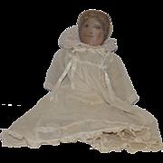Antique Doll Cloth Doll Rag Doll Folk Art Wonderful Clothes