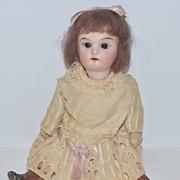 Old Doll Miniature Bisque Head Dollhouse CUTE!