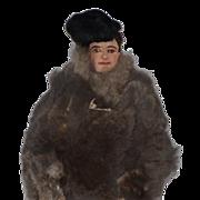 Old Doll Cloth Doll Eskimo Unusual Wonderful