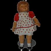 Vintage Doll Artist Wood Beckett Originals Signed GINGER #1 Only By Bob