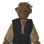 Old Doll Cloth Doll Rag Doll Folk Art Miniature Character