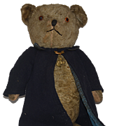 Old Teddy Bear Jointed Adorable