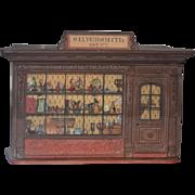 Wonderful Doll Dollhouse Miniature Room By EJ Kupjack Silversmith Shop Room Box Fab!