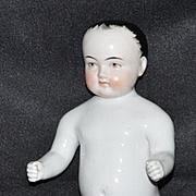 Old Doll Frozen Charlie Cabinet Size Wispy Hair Brown Eye