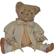Old Teddy Bear Mohair Jointed Adorable