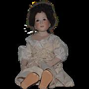 "Wonderful Doll Artist Doll Gorgeous Porcelain Sieglinde der zerbrochene krug Signed 23"" Tall"